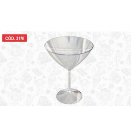 TAÇA MARTINE 300 ML - EM PC TRANSPARENTE